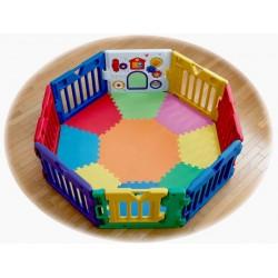 nihon ikuji 8 Panels Premium Musical Playard With Playmat – 1 Toy Panel (DX version)
