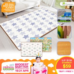 Living Codi XPE Dual Sided Baby Playmat (1300 x 2000 x 10 mm) *BUY 1 GET 1 FREE for EARLY BIRD Special!!