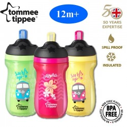 Tommee Tippee Insulated Straw Cup (3 Colors Available)