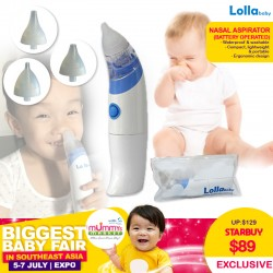 Lollababy Battery Operated Nasal Aspirator