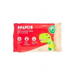 Snapkis Hand & Mouth Wipes (20pcs)