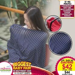 Lil Milk Monster SIGNATURE Luxuriously Soft 360 Multi Purpose Nursing Cover
