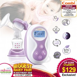 Combi 2-in-1 Single Breastpump (Manual and Electric)