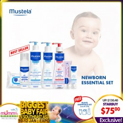 Mustela Newborn Essential Set Skincare + Free Travel Essentials Set worth $15