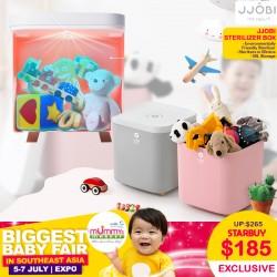 JJOBI UV LED Toy Sterilization Storage Box *EARLY BIRD SPECIAL