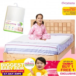 ClevaMama ClevaBed Single Sided Toilet Training Sleep Mat Bundle of 2 (BUY 1 GET 1 FREE!!)