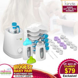 Kiinde Twist Gift Set With Warmer *FREE 20pcs TWIST POUCH with SAVE MORE COUPON!