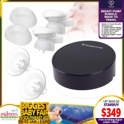 NEW LAUNCH!! LoveAmme MadeToTravel  Double Electronic Breastpump Bundle!! (FREE Breast Shield + T- Joint + Bottle Stands)