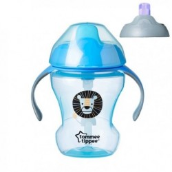 Tommee Tippee 2 Stage Easy Drink Cup (PURPLE / BLUE / GREEN)