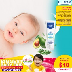 Mustela Soothing Chest Rub Cream
