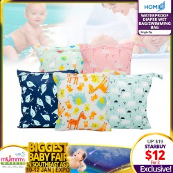 Waterproof Diaper Bags / Wet Bag (Various Sizes) - (Mix & Match 3pcs) *EARLY BIRD SPECIAL!!!