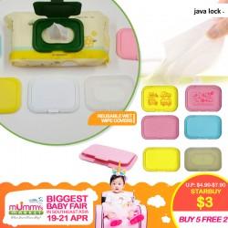 Javalock Resuable Wet Wipe Covers (Buy 5 Free 2, Buy 10 Free 5)