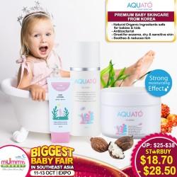 Aquato Cream 80ml / Lotion 150ml / Sun Lotion 50ml skincare
