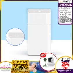 Legate Smart Milk Dispenser + Free Baby Cry Monitor + Smart Camera