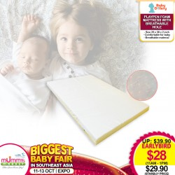 EARLY BIRD SPECIAL!!! Anti-Dustmite Playpen Form Mattress with Breathable Hole