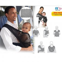 Fil' Up Mesh Baby Wrap Carrier (65 Percent OFF)