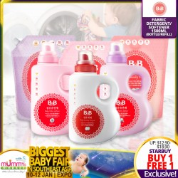 B&B Fabric Detergent OR Softener 1500ml (Bottle / Cap Refil) BUY 1 GET 1 FREE!!