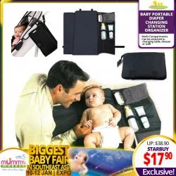 Babytoon Portable Baby Diaper Changing Mat