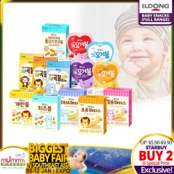 Ildong Korean Baby Snack (NEW FLAVORS ADDED!)