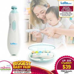 Lollababy Battery Operated Nail Trimmer