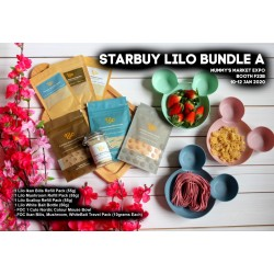 Lilo Bundle A (Scallop + Ikan Bilis + Mushroom Powder + White Bait) + Free Gifts!