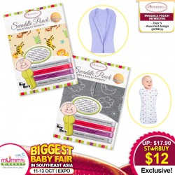 Autumnz Swaddle Pouch (Available in different designs!!) - S/M