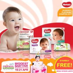 FREE Huggies Platinum Starter Kit (For Newborn & Toddler Mums)