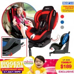 Sparco F500i Child Carseat!! ISOFIX!
