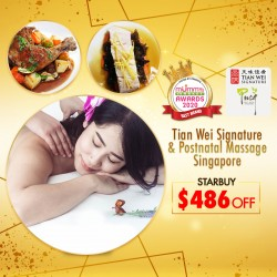 (2020 AWARD WINNER) Tian Wei Signature Confinement x Post Natal Singapore Package + CASH Deduction + FREEBIES Worth Up To $338 !!