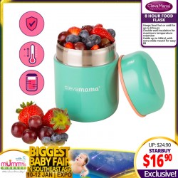 Clevamama 8 Hours Food Flask