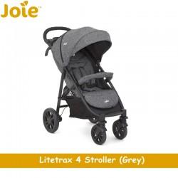 Joie Litetrax 4 Travel System Stroller + Gemm Infant Carseat