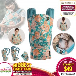 Mimosa Ergonomic Baby Carrier (GARDEN PARTY)